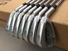 Ping Black Dot S57 Irons 4-PW S300 Stiff Flex Steel Golf Club Set