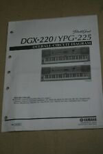 Yamaha Portable Grand DGX-220/YPG-225 Overall Circuit Digram