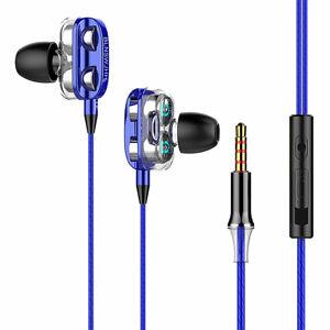 3.5mm HIFI Super Bass In ear Stereo Earphone Earbuds Mic Headset Headphone