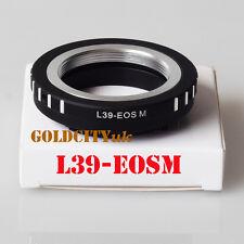 Leica M39 L39 39mm Screw Mount Lens Adapter to Canon EOS M Camera L39-EOSM