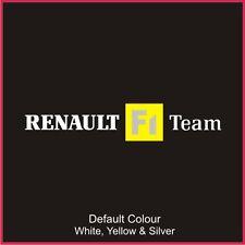 Renault F1 Team Calcomanía Antiguo Estilo, Clio, Vinilo, etiqueta engomada, gráficos, coche, N2065