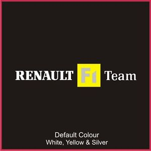 Renault F1 Team Decal Older Style, Clio, Vinyl, Sticker, Graphics,Car, N2065
