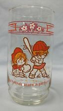 """Urchins Coca-Cola drinking glass... """"Good friends score a perfect hit"""""""