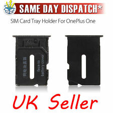 Genuine New ONEPLUS ONE 1+ A0001 Sim Card Tray Holder Bleck Sim Slot Simslot UK