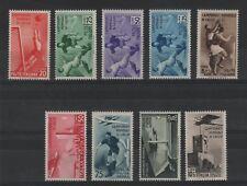 1934 Mondiali di Calcio serie cpl p.o. p.a. MNH