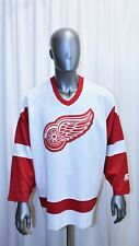 Maillot Hockey Jersey NHL Vintage 90's Detroit Red Wings Starter taille XL