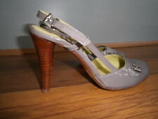 Hard Hearted Harlot Grey Summer Sandals Heels size 35(UK 2)