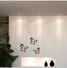 WANDTATTOO w400 Schmetterlinge Wandaufkleber 3 Stück Dekoration Küche Bad Auto