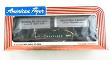AMERICAN FLYER/Lionel S Scale #4-9004 Southern RR Flatcar w/ Vans ~NIB~ T137