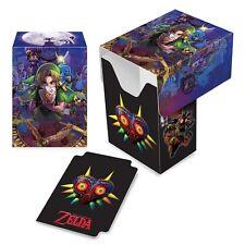 The Legend of Zelda Majora's Mask ULTRA PRO DECK BOX FOR MTG POKEMON CARDS