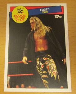 2015 TOPPS WWE HERITAGE EDGE #16 ROY WALMART EXCLUSIVE WCW WRESTLEMANIA WWF NWA
