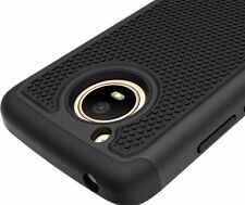 For Motorola Moto E4 XT1760 - Hybrid HARD&SOFT Armor Phone Case Cover