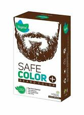 Vegetal Safe Colour, Dark Brown, Men's Beard Hair color, Organic Elegance 25g