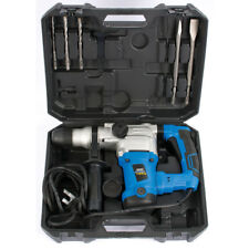 DRAPER 240v 3-Mode 1250w SDS Plus Hammer Combi Drill/Breaker & Chisels Kit,83589