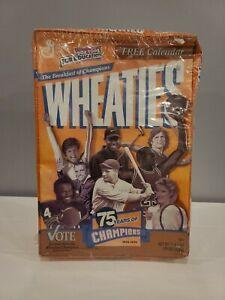 Vintage SEALED Wheaties Box 75 Years Of Champions 1924-1999 MICHAEL JORDAN