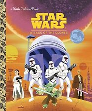 Star Wars: Attack of the Clones (Star Wars) (Little Golden Book) by Golden Books