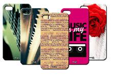 IPM CUSTODIA COVER CASE MUSICA CHITARRA PIANOFORTE PER iPHONE 5 S 5S