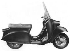 New listing Velocette Viceroy Motorcycle Service Manual for Scooter Overhaul Service Repair
