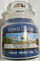 Yankee Candle Blue Summer Sky Small Jar Candle 3.7 oz - BRAND NEW - RARE BOUGIE