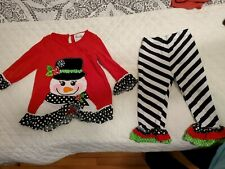 Baby girl 24 Month Christmas Outfit