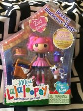 Lalaloopsy Mini Doll Berrys Blueberry Party #3 of Series 6 Retired MGA