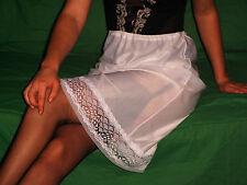 OMAS ATTRAKTIVER  50/60er Perlon/Nylon HALB-Unterkleid-Unterrock Gr.44 *NEU*(528
