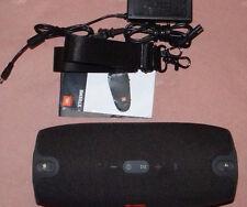 JBL Xtreme Splashproof portable Bluetooth speaker BLACK  WORKS fine Priced2sell