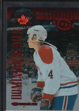 TERRY RYAN 1997/98 DONRUSS CANADIAN ICE #128 DOMINION CANADIENS SP #125/150