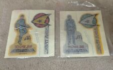 2 Rare Star Trek Tmp Mr Spock Dr McCoy Insignias Iron On Tranfers 1979 McDonalds