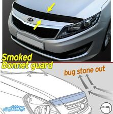 Smoked Bonnet Hood Guard Garnish Deflector 1P K5 D-654 For KIA Optima 2011-2015