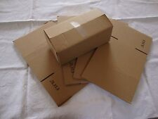 5 Brown Corrugated Shipping Box 8x4x3 Sunglasses Cardboard Carton Packing Mailer