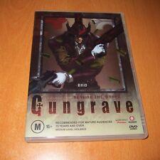 GUNGRAVE - BEYOND THE GRAVE - VOL. 1 ( DVD , REGION 4 ) JAPAN ANIME ~ VERY GOOD