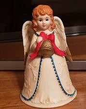 Homco vintage Angel Christmas bell