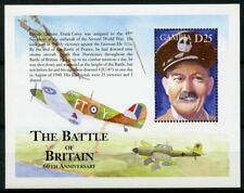 Gambia 2000 MNH WWII WW2 Battle of Britain 1v S/S I Military Aviation Stamps