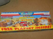 1998 MICRO MACHINES BATTLE ZONES MILITARY 2 FOR 1 PACK