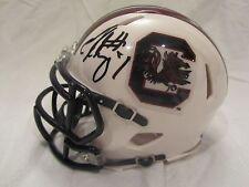 Jadeveon Clowney Signed South Carolina Mini Helmet - JSA Cert