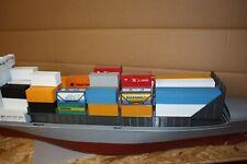 Aufbau Ladeluke Containerschiff 1:87
