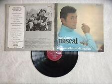 """LP JEAN CLAUDE PASCAL """"Chansons d'hier et de toujours"""" CONCERT HALL SVS 2565 µ"""