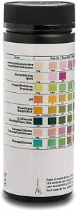 100 Urine Test Strips for Infection, Cystitis, UTI, urinalysis Dipsticks