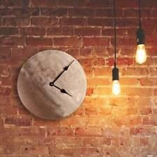 "Unique Copper Wall Clock - Decorative Metal Wall Clock for Modern Home Decor 12"""