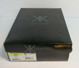 Kardashian Kollection Black Ruffle Lace Platform Stiletto High Heels US Sz 9.5 M