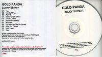 GOLD PANDA Lucky Shiner UK 11-tk numbered/watermarked promo test CD