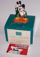 Disney Mickey Mouse Magician On with the Show Membership Statue 1997 NIB