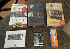6 Box Lot 1997  98 GRAND SLAM VENTURES MASTERS COLLECTION BOX TIGER WOODS ROOKIE