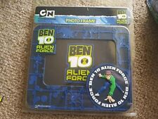 BEN 10 PHOTO FRAME. RUBBER OUTER FRAME. NEW