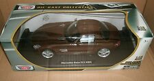1/18 Mercedes Benz SLS AMG Gullwing Coupe Diecast Model Car - MotorMax 79162