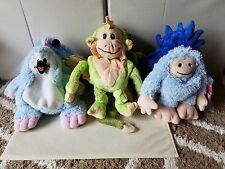 Abandon Interactive Freaky Pets Reversible Plush Lot of 3 - 1 is NWT