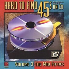 Rare Sealed CD Hard To Find 45s On CD Volume 3 Mid 1950s Eric #11504 OOP New