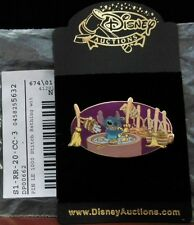 Disney Auctions ~ Stitch Bathing Fantasia Sorcerer's Apprentice Brooms DA LE Pin