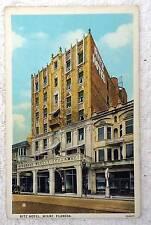 POSTCARD THE RITZ HOTEL MIAMI FLORIDA #11H